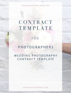 editable wedding day photography template  photographer contracts photography wedding contract template sample