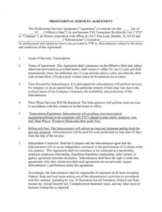 free 50 professional service agreement templates & contracts medical billing service contract template word