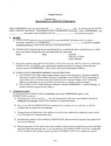 sample 11 service agreement contract template examples  pdf word medical billing service contract template