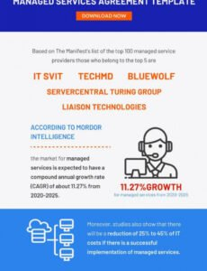 sample 5 managed services agreement contract templates  word managed service provider contract template pdf