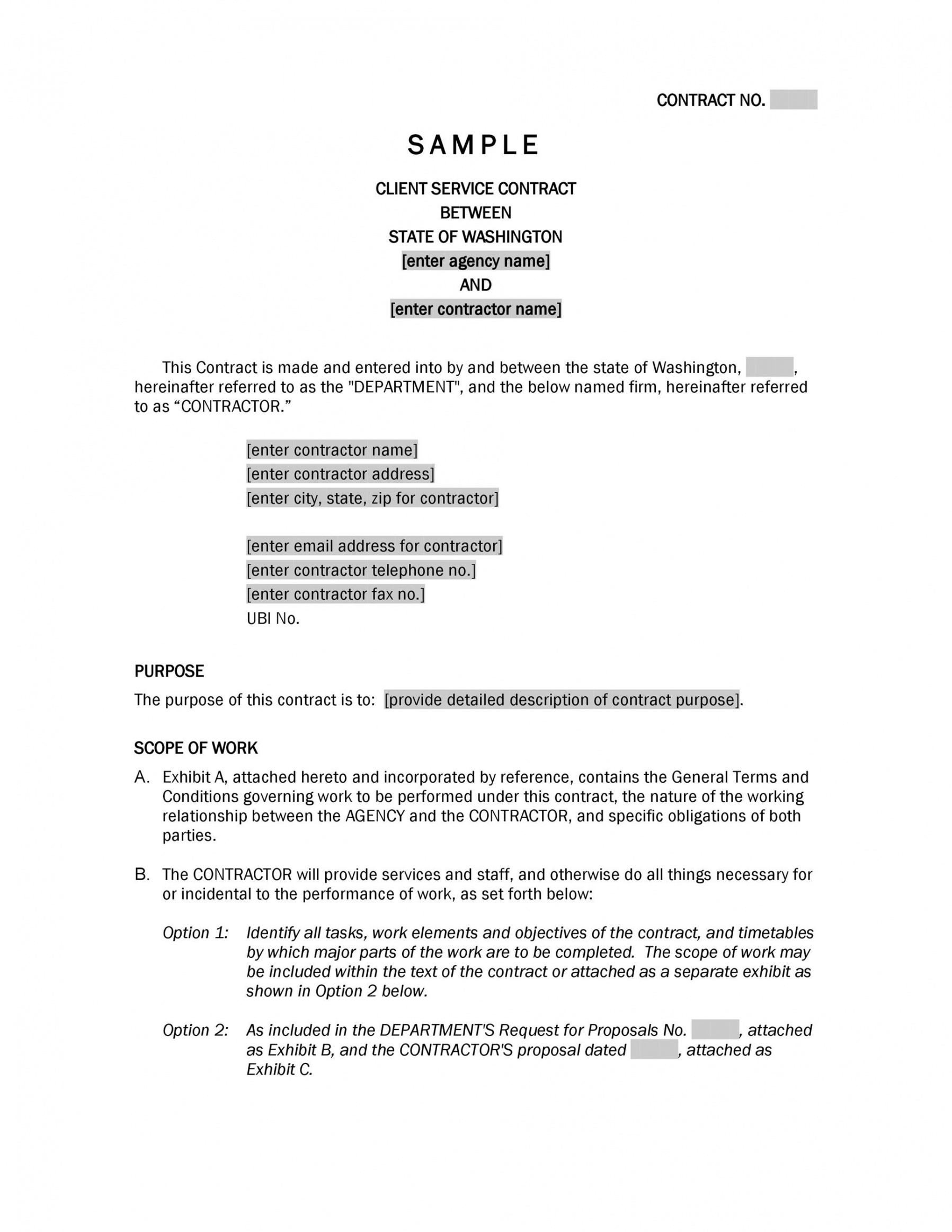 editable 40 great contract templates employment construction public relations contract template doc