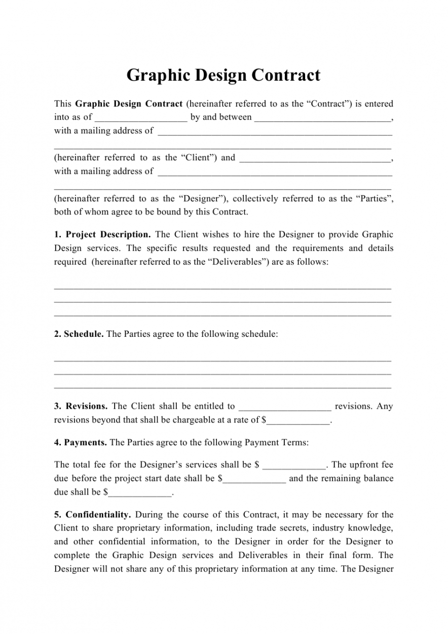 free graphic design contract template download printable pdf web designer contract template example