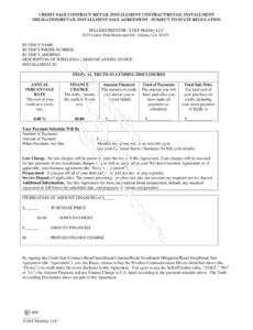 free staggered payment agreement  fill online printable down payment contract template doc