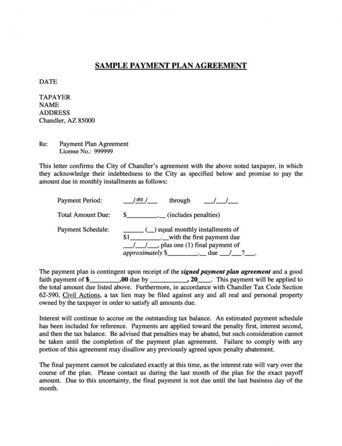 payment agreement  40 templates & contracts  templatelab take or pay contract template example