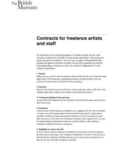 printable 11 freelance developer contract example templates  pages self employed contract template pdf