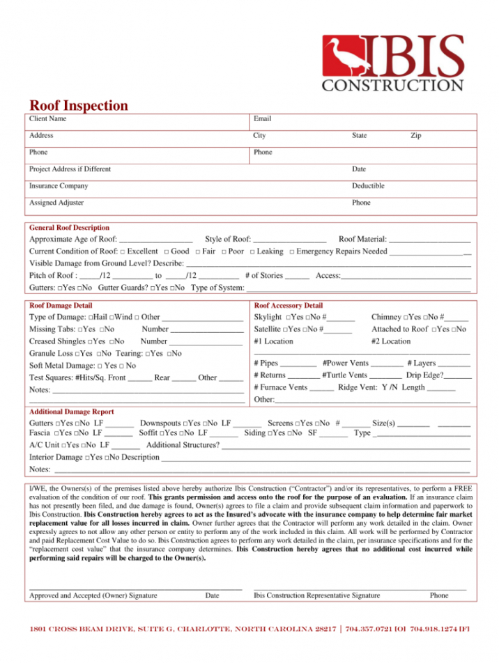 printable roofing contract template  fill online printable fillable roofing contract agreement template excel