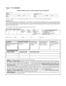 sample car installment payment contract template  fill online auto financing contract template excel