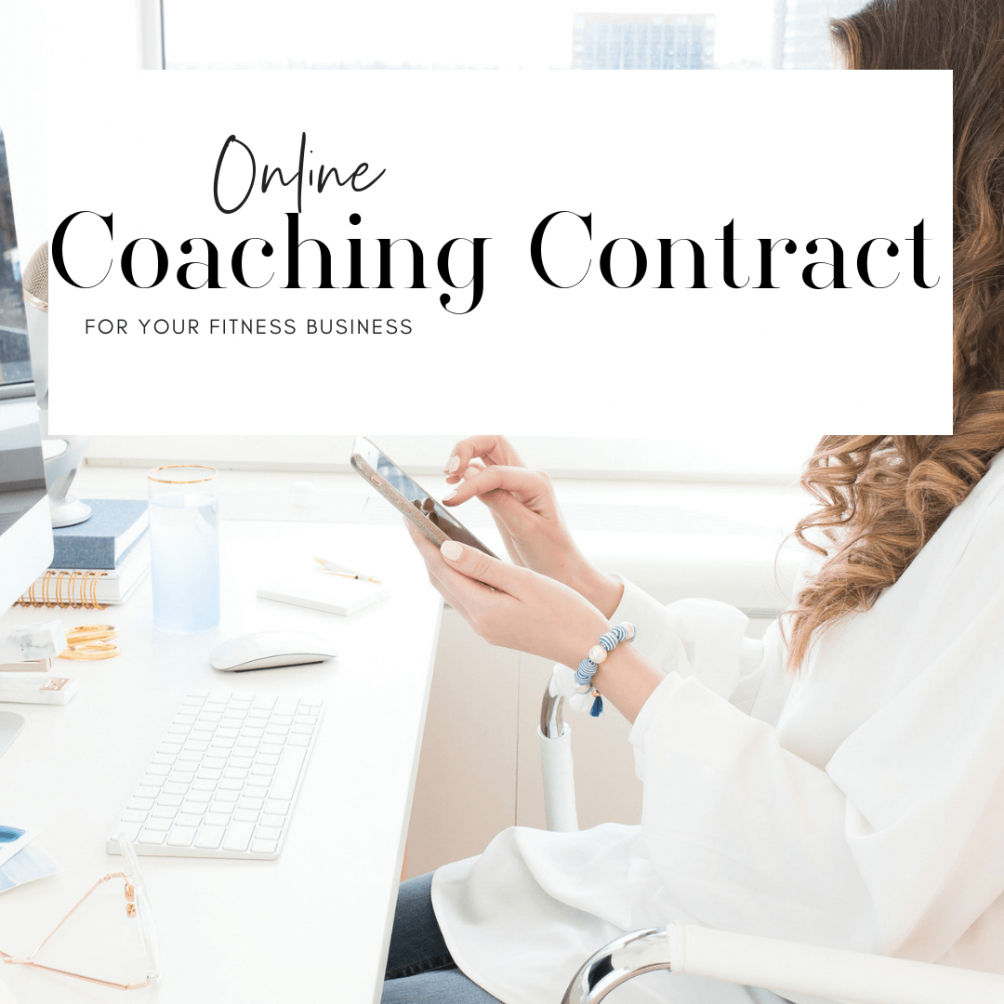 Business Coaching Contract Template  Example