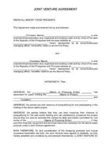 Free Legal Contract Between Two Parties Template Excel