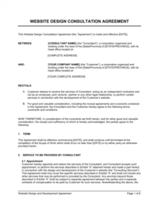 Professional Commercial Interior Design Contract Template Pdf