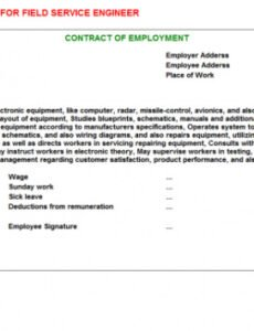 Professional Engineering Services Contract Template Pdf