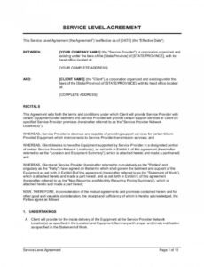 Printable Car Wash Contract Template