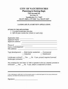 Printable Commercial Landscape Maintenance Contract Template Pdf