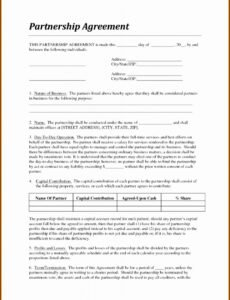 Printable Managed Services Contract Template Word