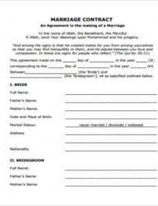 Professional Wedding Hair And Makeup Contract Template Word