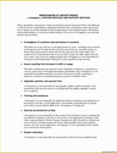 Security Service Guard Contract Template Excel Sample