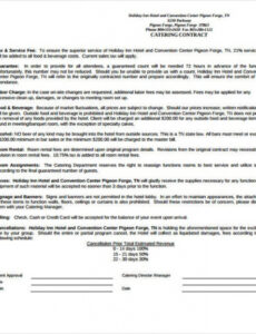 Best Food Truck Contract Template