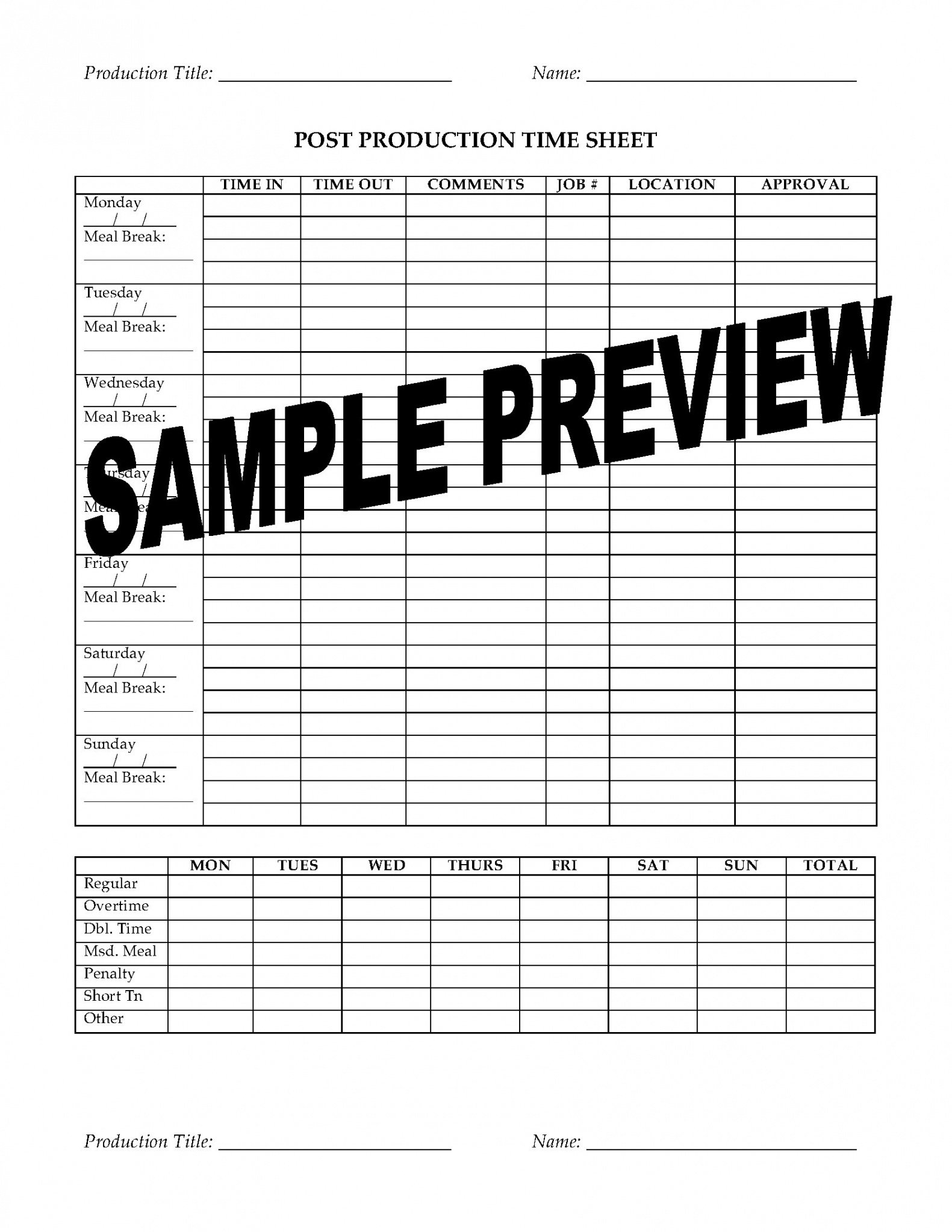 Costum Tv Production Contract Template Pdf
