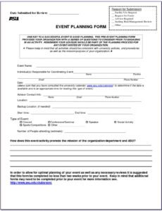Event Manager Contract Template Excel Sample
