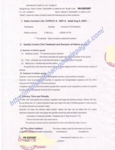 Free Hair Salon Commission Contract Template  Example