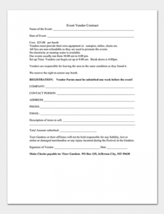 Professional Contract For Event Planning Services Template Pdf Sample