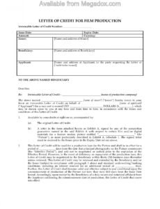 Professional Film Production Contract Template Doc Sample