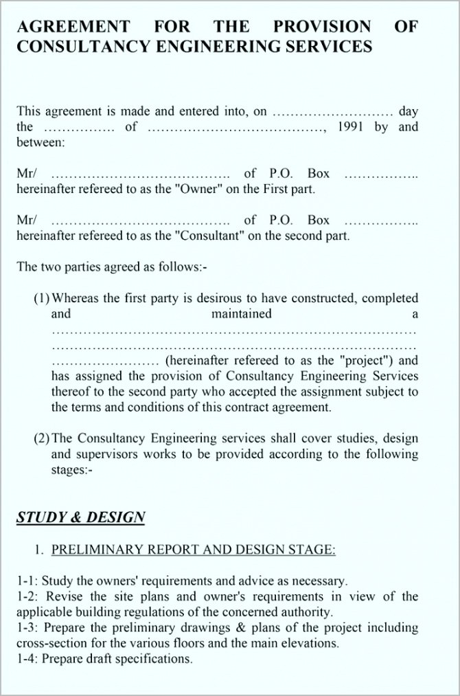 Professional Freelance Marketing Contract Template Doc