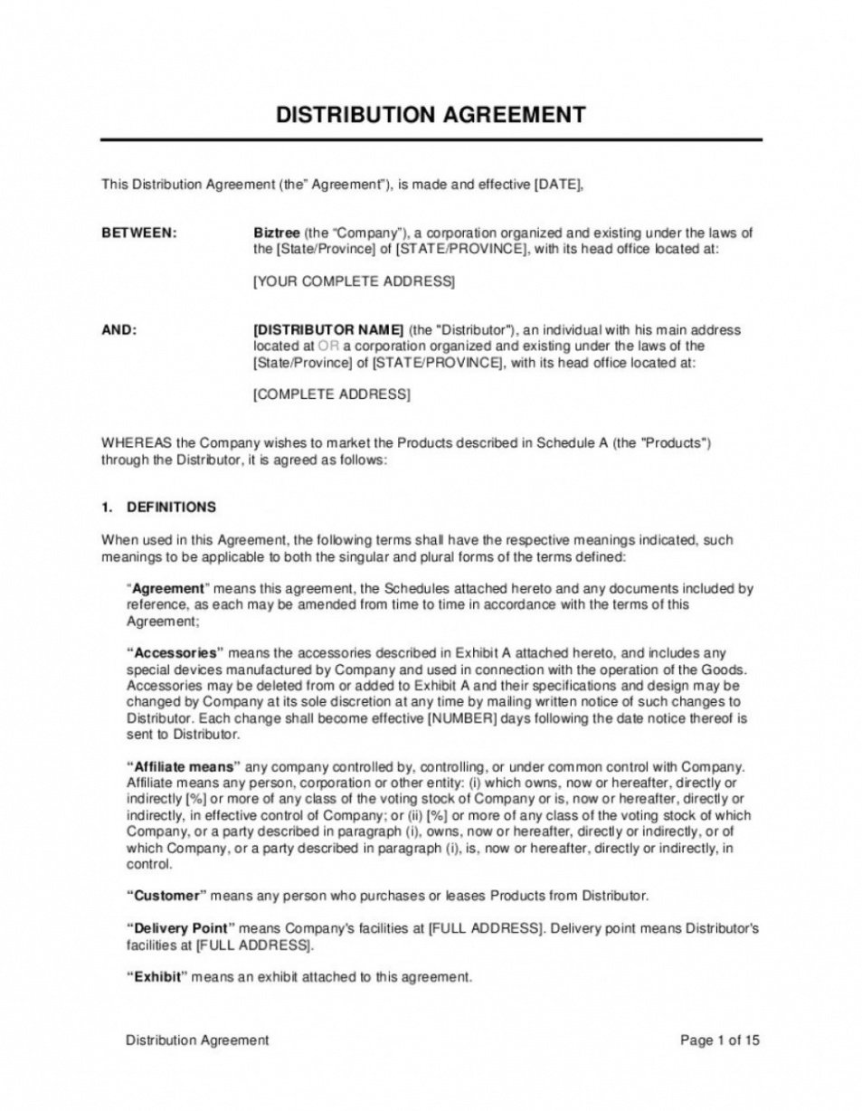 Professional Legally Binding Contract Template Doc Sample
