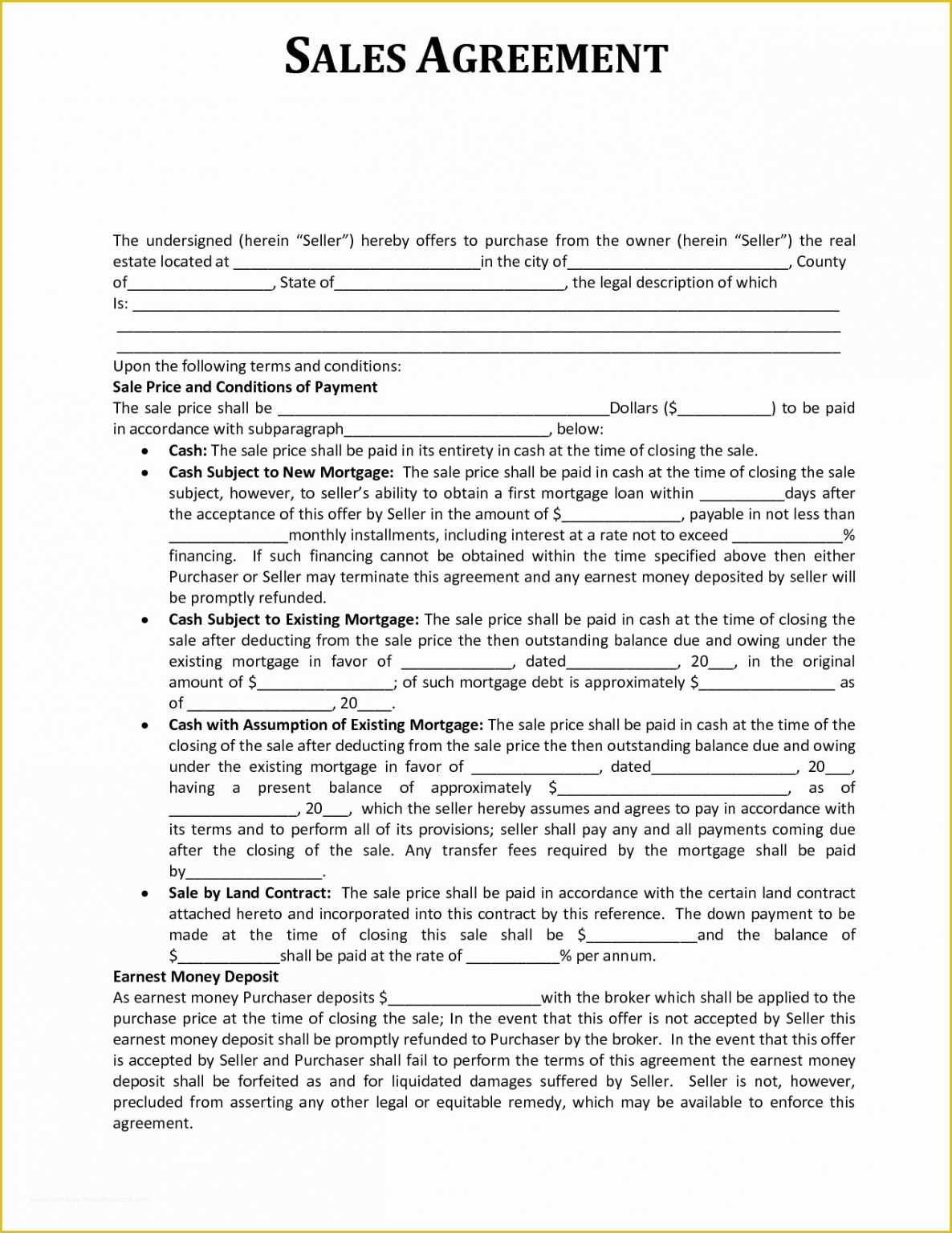 Professional Sales Commission Contract Template Excel