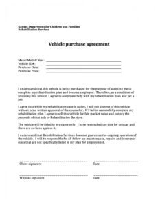 Editable Buy Here Pay Here Finance Contract Template  Sample