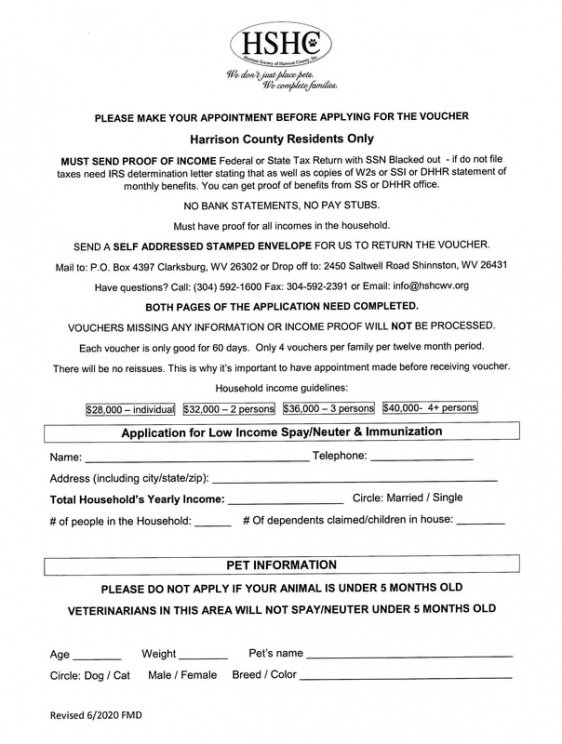 Editable Spay And Neuter Contract Template Pdf Sample