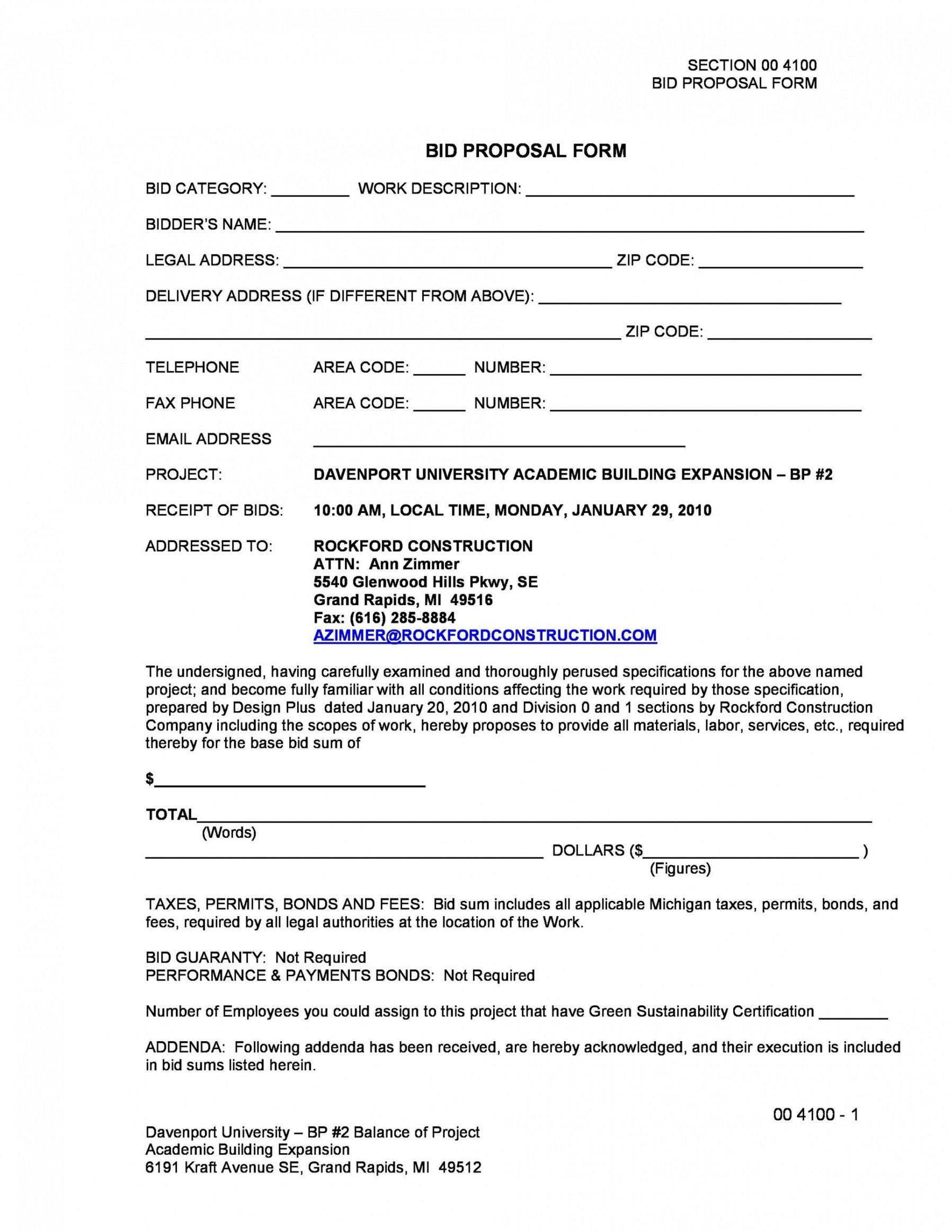Free Project-Based Employment Contract Template Word Sample