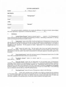 Guaranteed Investment Contract Template Excel Example