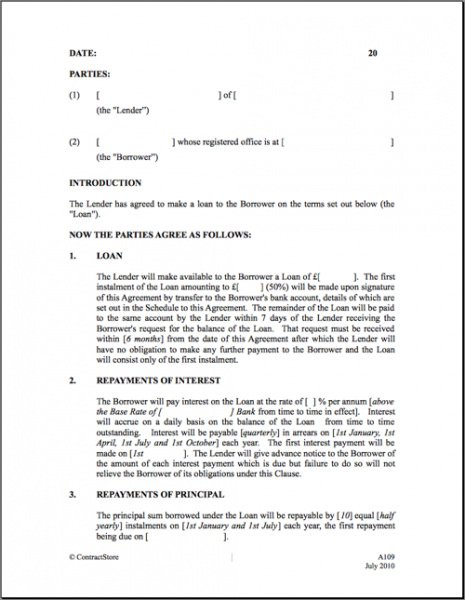 Professional Buy Here Pay Here Finance Contract Template Doc Sample
