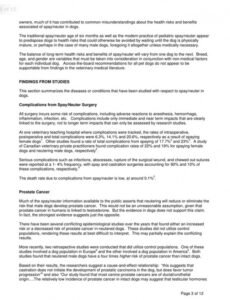 Professional Spay And Neuter Contract Template Pdf