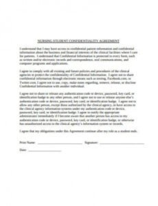 Best Nurse Practitioner Contract Template Excel Example