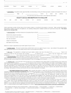 Best Wholesale Real Estate Contract Template Excel Sample