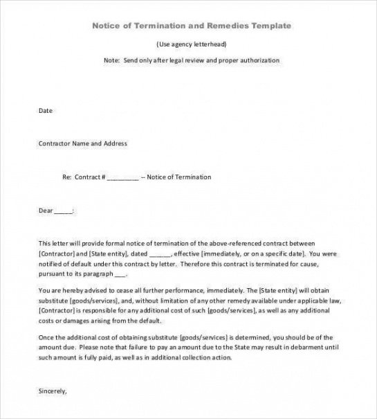 Best Dissolution Of Contract Template Word