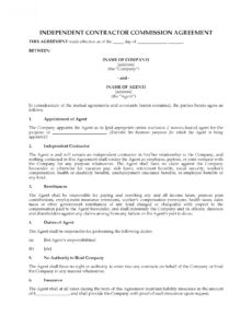 Costum Oregon Construction Contract Template  Example