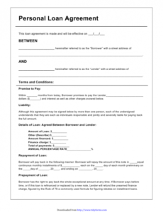 Costum Refund Contract Template  Example