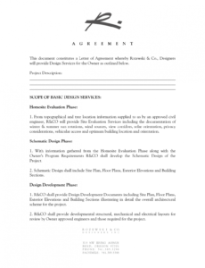Free Graphic Artist Guild Contract Template Doc