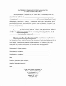 Best Contract Paper Template Doc Sample