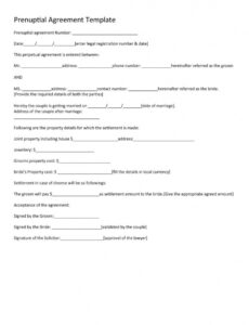 Contract Paper Template Pdf Example