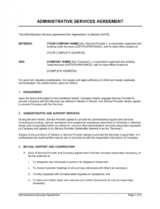 Costum Freight Contract Template Word Example