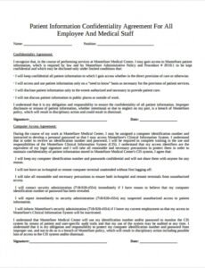 Doctor Patient Contract Template Doc Example