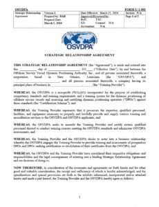 Editable Love Relationship Contract Template Doc