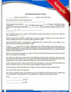 Free Wholesale Purchase Agreement Contract Template