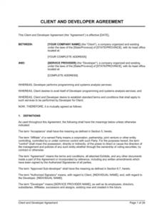 Printable Contract Analysis Template Doc