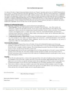 Social Work Client Contract Template Doc